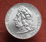 "2 шиллинга 1936 г. ""Принц Савойский"", Австрия, серебро, фото №7"