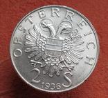 "2 шиллинга 1936 г. ""Принц Савойский"", Австрия, серебро, фото №9"