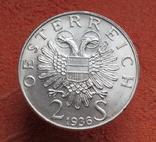"2 шиллинга 1936 г. ""Принц Савойский"", Австрия, серебро, фото №13"