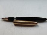 Перьевая ручка SHEAFFERS Перо комбинированное 14 карат., фото №4