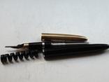 Перьевая ручка SHEAFFERS Перо комбинированное 14 карат., фото №7