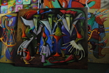 "Художник A.Losovoj, картина ""Тайная вечеря, фрагмент 4"", холст, масло, 100х120 см, фото №3"