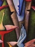 Художник A.Losovoj, картина ''Тайная вечеря. Эпизод 2'', 120х100 см., холст, масло, фото №7