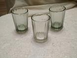 Граненые стаканы 3 шт., 100 мл., фото №2