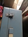 Портфель дипломат саквояж чемодан металлический алюминий для инструментов армейский, фото №9