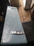 Портфель дипломат саквояж чемодан металлический алюминий для инструментов армейский, фото №12