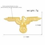 Значок орел (сувенир) в бронзе, фото №2