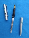 Чернильная ручка в металлическам корпусе №1, фото №3