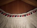 Старинная льняная рубашка с вышивкой, фото №5