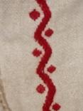 Старинная льняная рубашка с вышивкой, фото №7