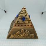 Пепельница в виде Египетской пирамиды. Высота 80мм, фото №3