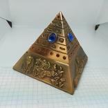 Пепельница в виде Египетской пирамиды. Высота 80мм, фото №4