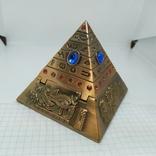 Пепельница в виде Египетской пирамиды. Высота 80мм, фото №6
