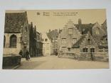 Открытка 1900-1920 годы. № 189 Bruges, фото №2