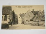 Открытка 1900-1920 годы. № 189 Bruges, фото №3