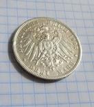 3 марки 1908 г. Вюртемберг., фото №7