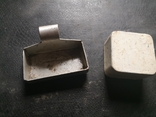 Пепельницы для спичек коробки магнит алюминий, фото №2