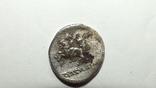 Республиканский  Денарий: К. Сервилий, 136 г. до н. Э, фото №4