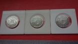 Шведские кроны в серебре три шт., фото №7