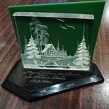 Настольный сувенир зима в деревне СССР., фото №5