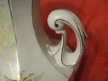 Ваза - фарфор - ручная работа - высота - 59 см., фото №7