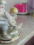 Статуэтка Дети кормят голубей, фото №7
