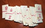 Арифметическое (детское) домино. 42+42 карточки, фото №7