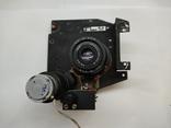 Объектив Индустар 50 2 с видеокамерой от камеры видеонаблюдения времён СССР, фото №7