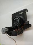 Объектив Индустар 50 2 с видеокамерой от камеры видеонаблюдения времён СССР, фото №9