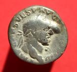 Денарий Vespasian (RIC II 356), фото №2