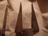 Металлические пики штыри гарпун, фото №7