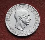 10 лир 1936 г. Италия, серебро, фото №7