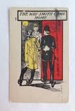 1907 Открытка юмор сатира Америка, фото №2