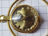 Часы-кулон Чайка AU5 с цепочкой, фото №4
