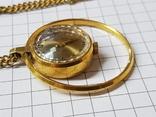 Часы-кулон Чайка AU5 с цепочкой, фото №5