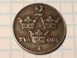 Швеция 2 оре 1944 г., фото №2