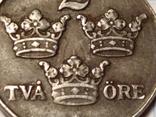 Швеция 2 оре 1944 г., фото №4