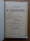 Пушкин 1913 в одном томе С иллюстрациями, фото №4