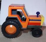 Железный Трактор Киевский з-д СССР длина 19 см., фото №2