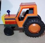 Железный Трактор Киевский з-д СССР длина 19 см., фото №10
