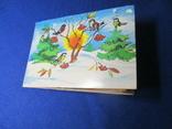 Открытка детская раскладушка  художник Пынина  1987 г, фото №8
