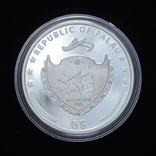 5 Долларов 2013 Семь Чудес Света - Храм Артемиды, Палау, фото №3