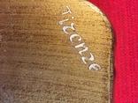 Винтажный флорентийский деревянный поднос, фото №4