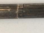 Серебряная шариковая ручка, фото №4