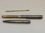 Серебряная шариковая ручка, фото №5