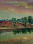 Картина маслом Руднев Н. 1960 год, фото №6