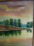 Картина маслом Руднев Н. 1960 год, фото №7