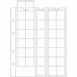 Лист к альбому Leuchtturm, Optima для монет до 27 мм. 306013