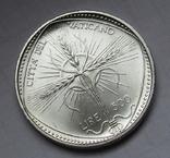 500 лир 1968 г. Ватикан, серебро, фото №7