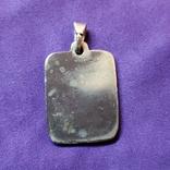 Серебряный медальон Христос Спаситель, фото №3